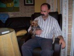 Miguel García criador de perros
