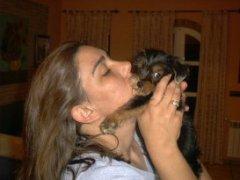 Encarni Corchero criadora de perros